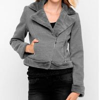 jaqueta com pelo
