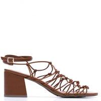 Sandália Salto Grosso Knot