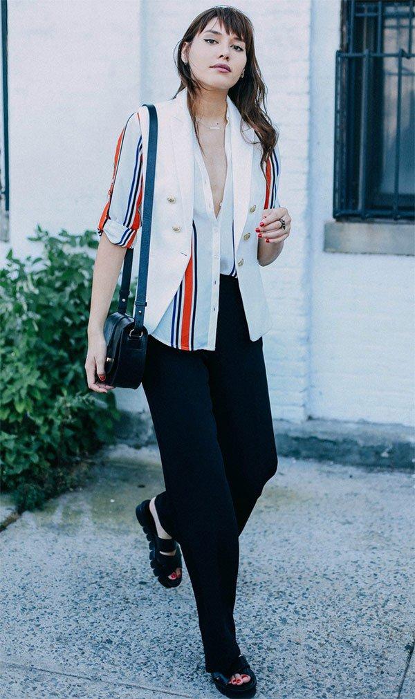Street style look Natalie Suarez
