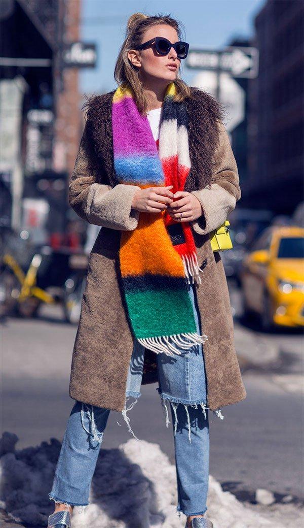 Street style look Rebecca Laurey