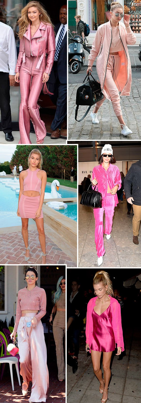 all pink looks