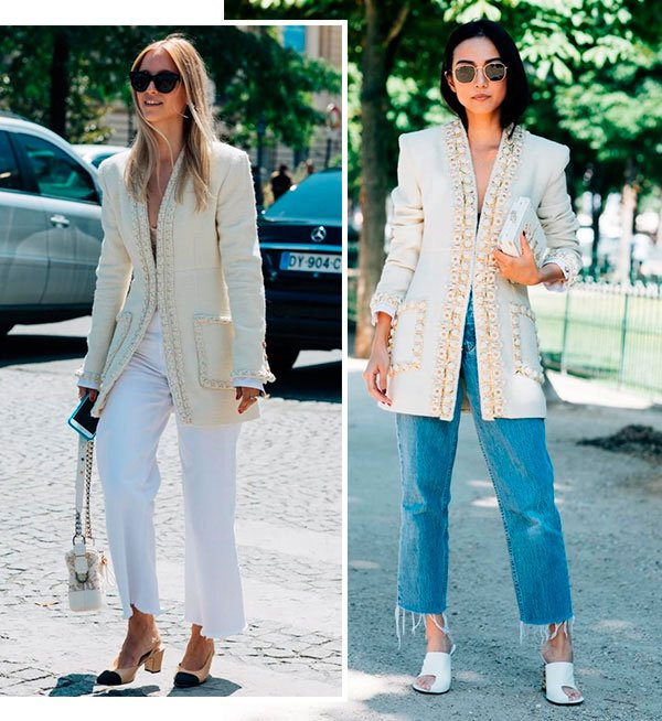 trendy now: blazer statement