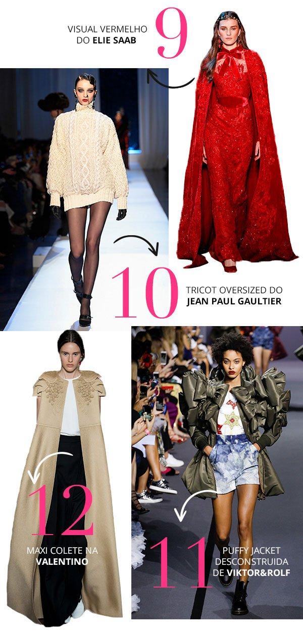 Trends para roubar da semana Haute Couture