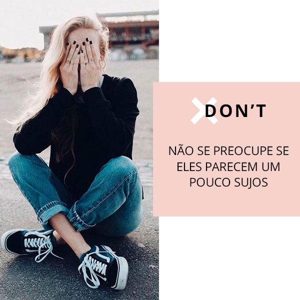 Sneakers Dos and Dont's