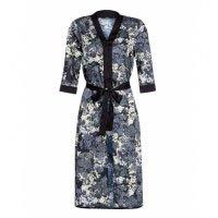 Kimono De Cetim Com Estampa