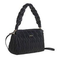 Bolsa Shoulder Bag Tramada Preta - M