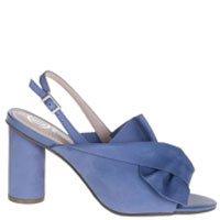 Sandália Nobuck Azul