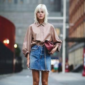 8 Provas De Que a Minissaia Jeans É Atemporal