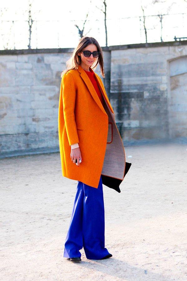 laranja azul