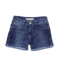 Shorts Jeans Feminino Hering Com Cintura Alta