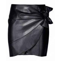 Saia Leather Curta