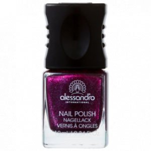 Nail Polish Purple Purpose Glitter - Esmalte 10Ml
