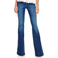 Calça Jeans Flare 3D - 42