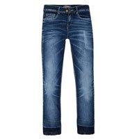 Calça Jeans Feminina Cropped Barra Desfeita