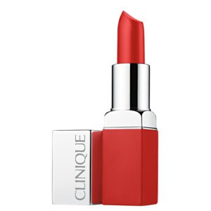 Batom Matte Clinique Pop Matte Lip Colour + Primer Ruby Pop 3,9G