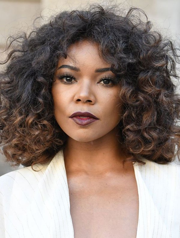 how to style short hair with curling iron 13 que amam os fios curtos 187 the look 7125 | gabrielle union cabelo cacho fios 20171030100155