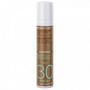 Protetor Solar Facial Korres Uva Mediterrânea Fps 30 50G