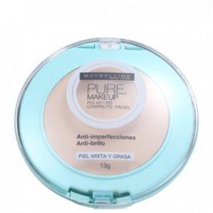 Pure Makeup Bege Claro - Pó Compacto 13G