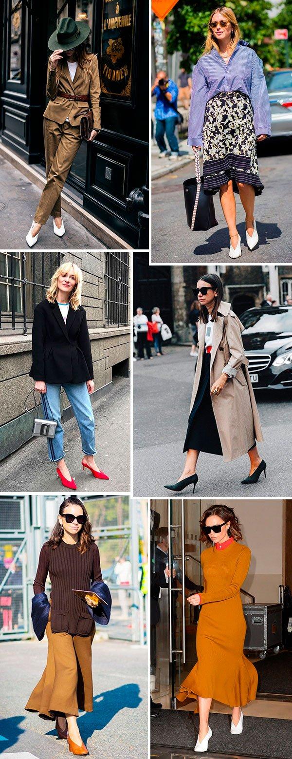 A shoe trend mais elegante que você verá hoje