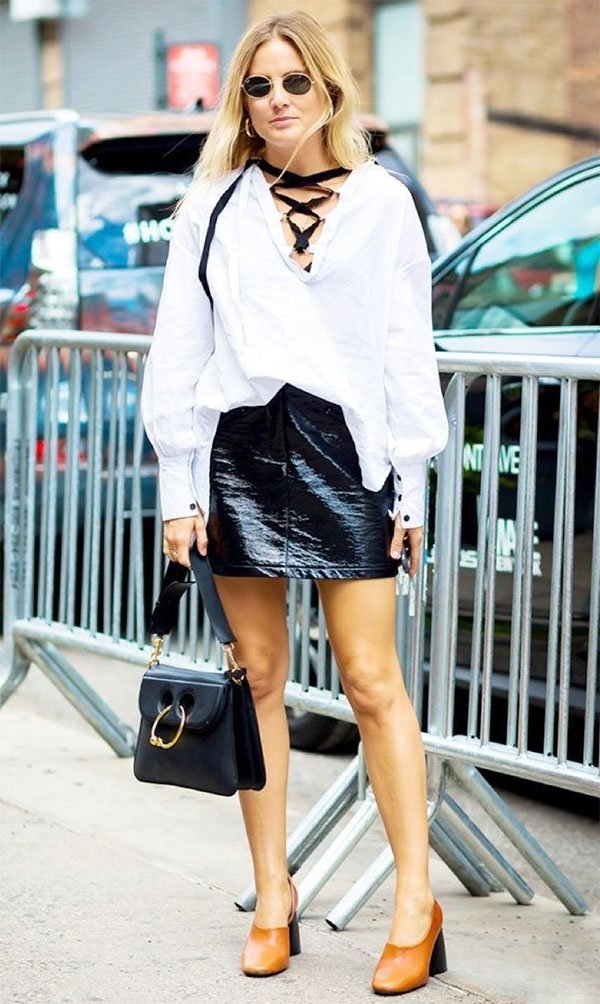 Street style look Lucy Williams