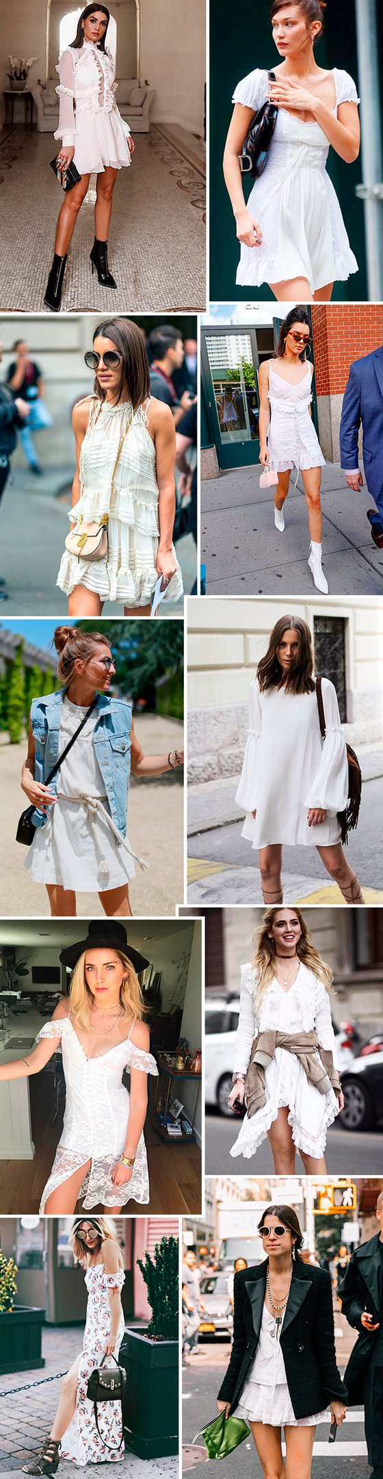 Trendy Now: white boho dress