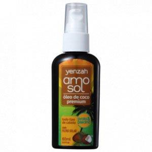 Óleo De Coco Premium Yenzah Amo Sol Praia E Piscina 60Ml