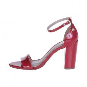Sandália Verniz Vermelha