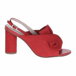 Sandália Nobuck Vermelha