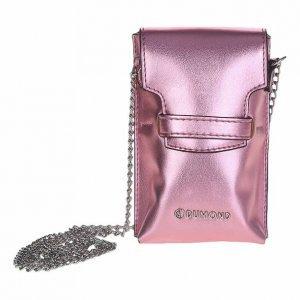 Bolsa Mini Bag Metalizada Rosa - Único