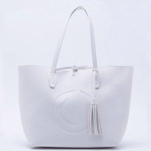 Bolsa Shopper Branca - Único