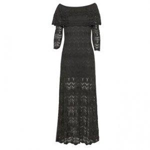 Vestido Longo Tricot - M