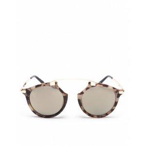Óculos De Sol Metal Glam