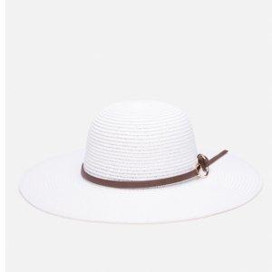 Chapéu De Palha Aba Larga