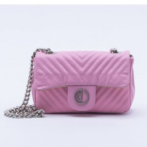 Bolsa Shoulder Bag Matelassê Rosa - P