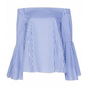 Blusa Vichy Ombro A Ombro