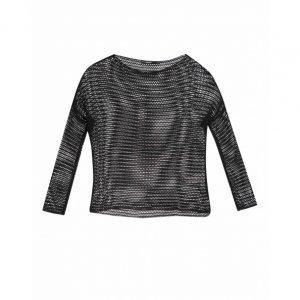Suéter Com Padronagem Vazado
