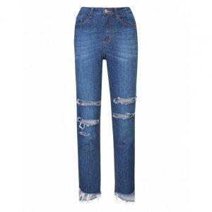 Calça Jeans Slim Rasgos