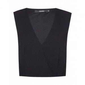 Blusa Cropped Decote V Maxime