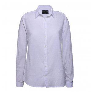Camisa Feminina Voil Maquinetado