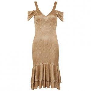 Vestido Golden Tricot Touch - 36