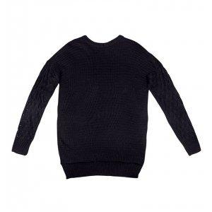 Blusão Black Em Tricot Dzarm