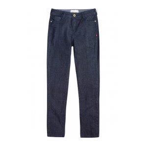 Calça Jeans Na Base Berlin Com Lavação Escura Dzarm