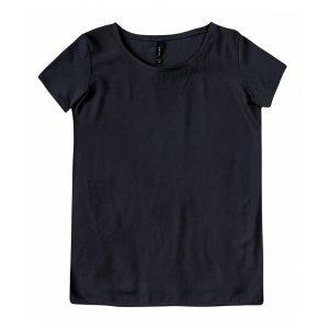 Blusa Com Frente Em Tecido De Viscose E Costas Em Algodão