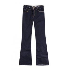 Calça Feminina Flare Em Jeans