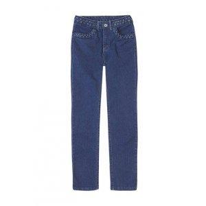 Calça Jeans Skinny Feminina Hering Cintura Alta E Detalhe Trançado