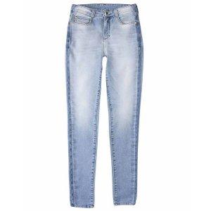 Calça De Moletom Jeans Feminina Hering Super Skinny