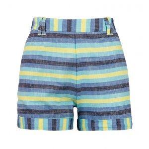 Shorts Feminino Em Tecido De Algodão E Fio Tinto Hering For You