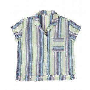 Camisa Feminina Em Tecido De Viscose Com Bolso Hering For You