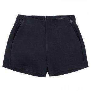 Shorts Em Tecido Alfaiatado Com Botões