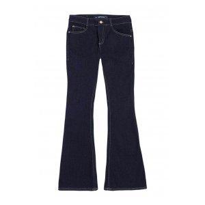 Calça Jeans Feminina Hering Flare Com Elastano
